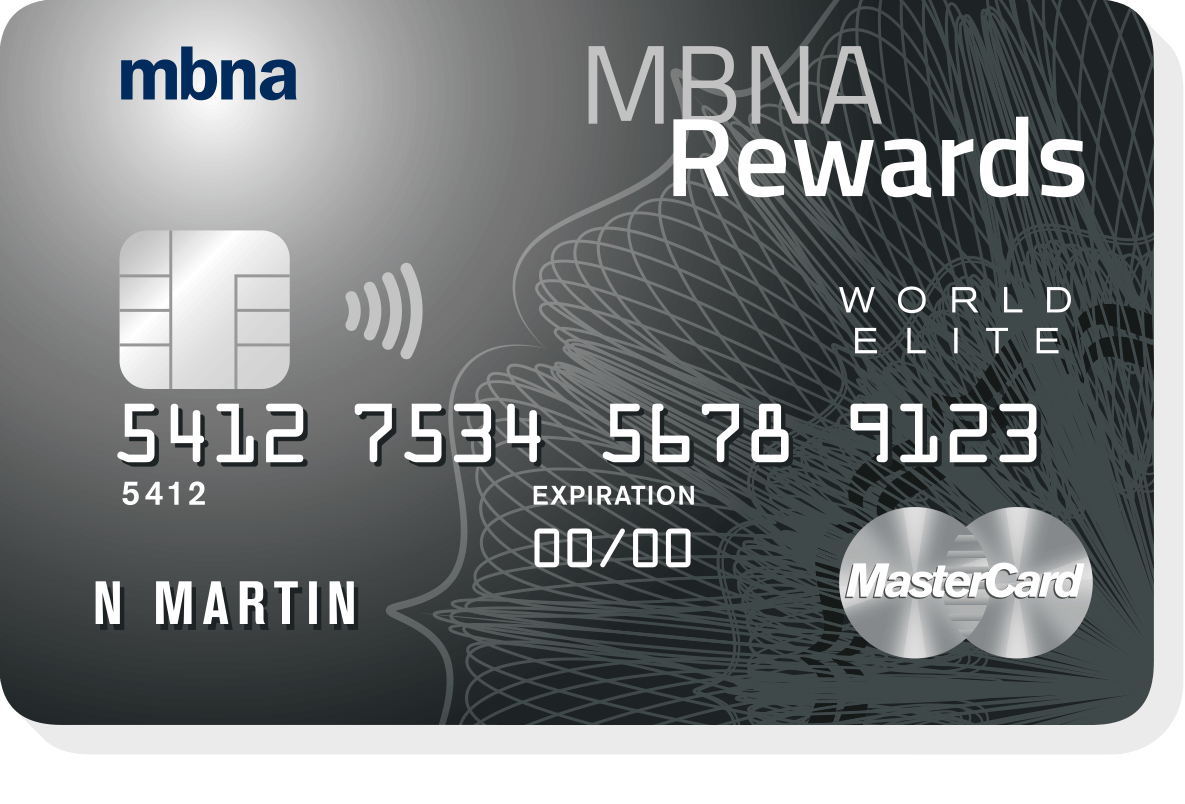 mbna elite travel rewards review