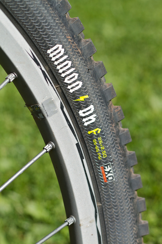 minion dhf 2.5 review