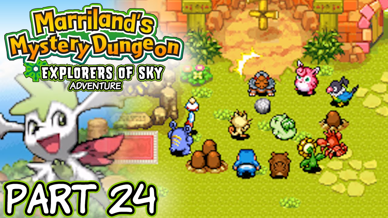 pokemon mystery dungeon explorers of sky review