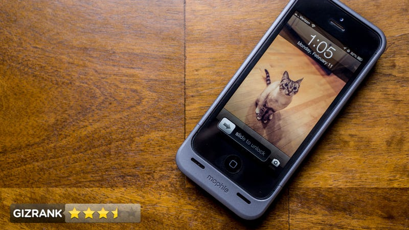 mophie juice pack iphone 5 review
