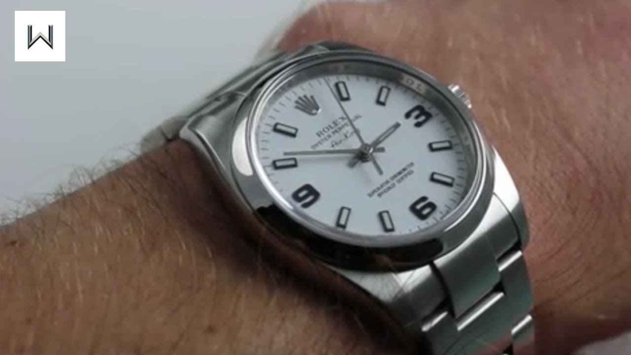 rolex air king 34mm review
