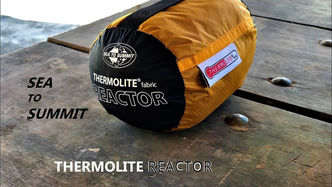 thermolite sleeping bag liner review