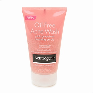 neutrogena grapefruit face scrub review