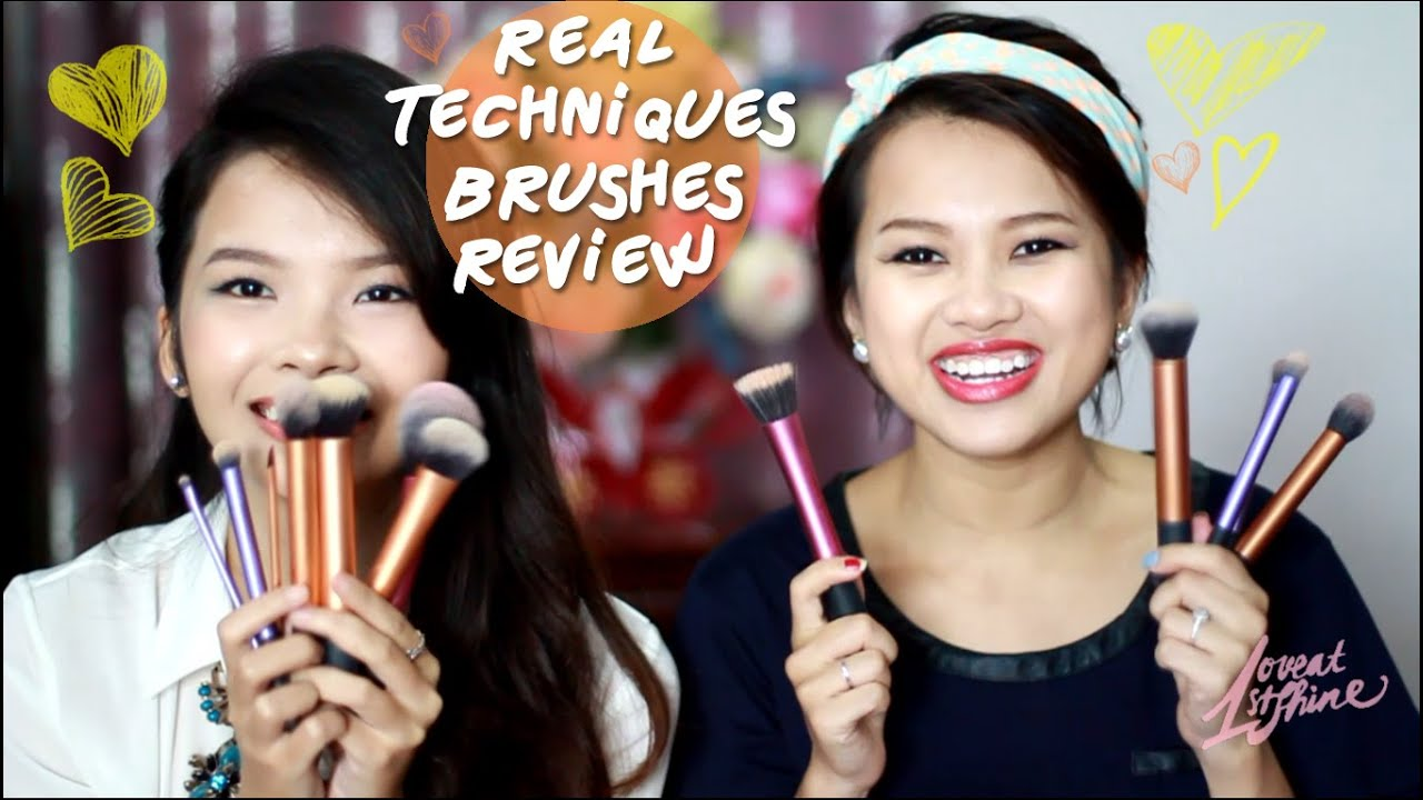 real techniques brushes review youtube