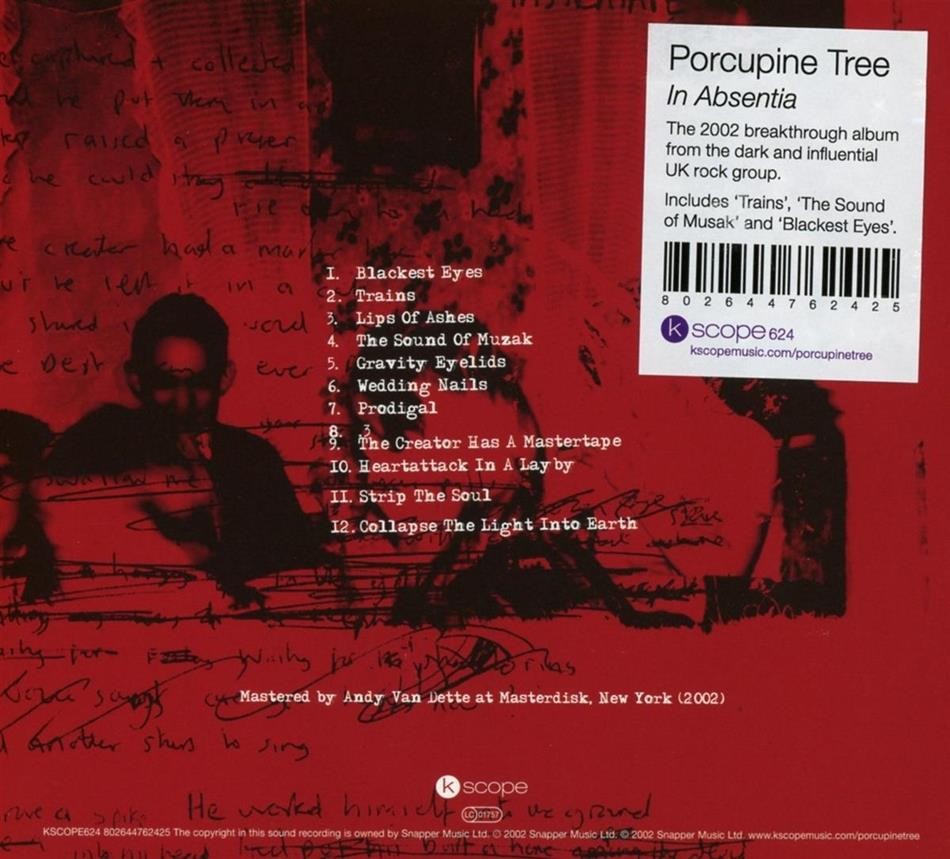 porcupine tree in absentia review