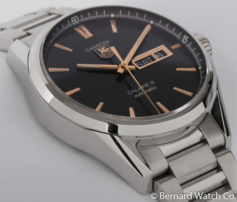 tag heuer calibre 5 day date review
